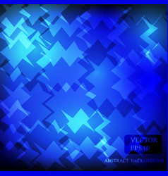 blue dark background pattern design vector image