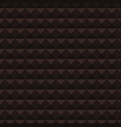 Dark triangular abstract mosaic background vector