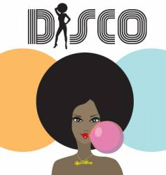 disco lady vector image