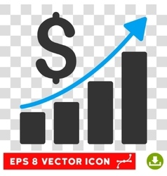 Financial Report Eps Icon vector