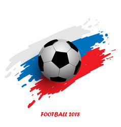 football cup 2018 abstract background realistic vector image