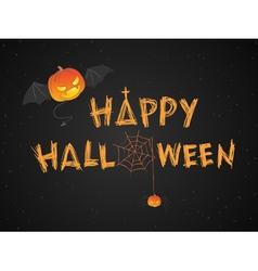 Happy Halloween theme vector