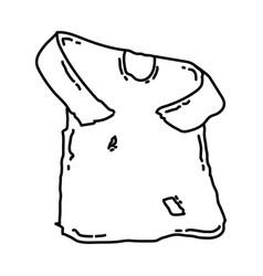 Jubba mubarak hazrat muhammad icon doodle hand vector