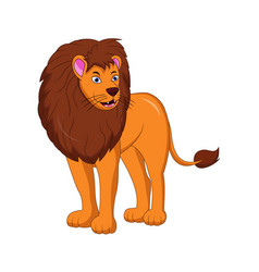 lion king cartoon vector image