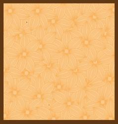 Orange Flower background vector