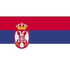 Serbia flag image vector image