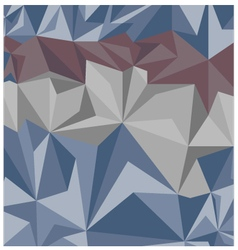 Vintage pattern of geometric shapes vector image