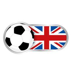 united kingdom soccer team vector image vector image