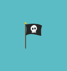 flag icon flat element of vector image vector image
