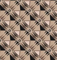 rhombus geometric techno pattern background vector image