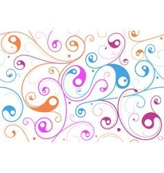 Swirly Pattern vector image