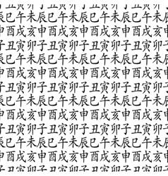 12 zodiac fengshui animals vector