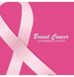 Breast Cancer Awareness Pink Ribbon vector
