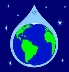 concept globe icon vector image