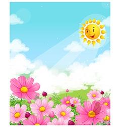 Flower blossom vector