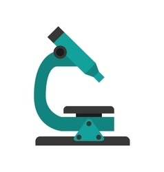 microscope isolated icon design vector image