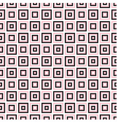 Seamless geometrical square pattern background vector