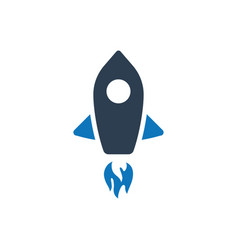 startup icon vector image