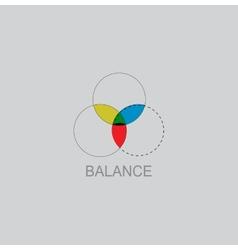 Color Balance icon vector image