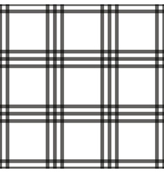 Tartan seamless pattern white vector image vector image