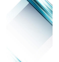 abstract geometric blue lines background vector image