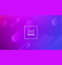 futuristic design purple background templates vector image