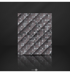 Seamless Grey Gquare Tiles Pattern vector image