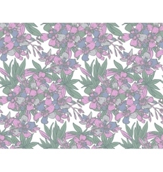 Seamless pattern with hand drawn vector
