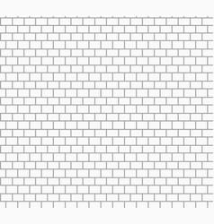 White brick wall texture vector