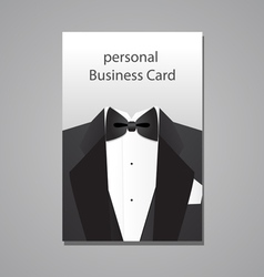personal Business Card vector image