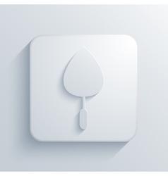 modern trowel light icon vector image
