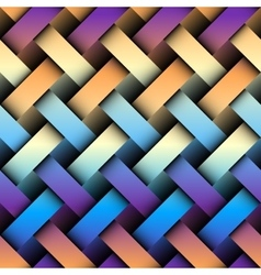 Abstract plaid background vector