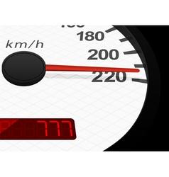 Background with speedometer vector