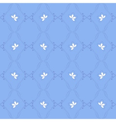 blue seamless pattern 2 vector image