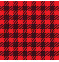 buffalo plaid vector image