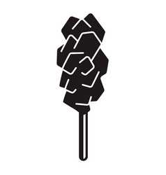 candy sugar stick icon simple style vector image