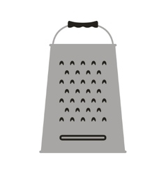 Grater Icon Card vector