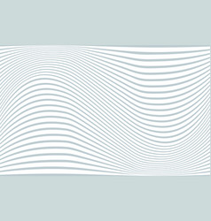 Gray and white wavy tilde shaped stripes vector
