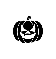Halloween Silhouette Icon vector image