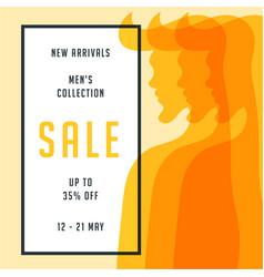 Orange red men collection 35 big sale special vector