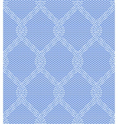 Seamless knitted pattern vector image