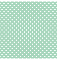 Seamless pattern polka dots vector