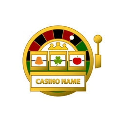 Slot-Machine-Logo-380x400 vector image