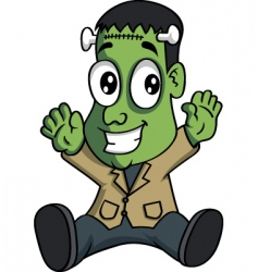baby Frankenstein vector image vector image