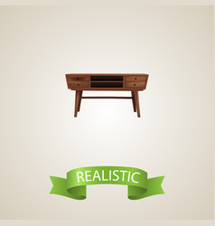 Commode realistic element of vector