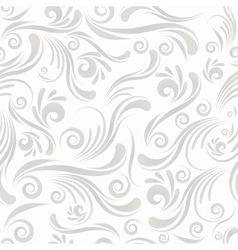 seamless swirl ornament vector image vector image