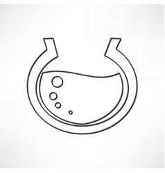 Aquarium icon vector