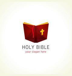 Bible logo vector