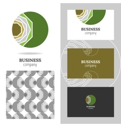 Business abstract logo icon for company Graphic vector