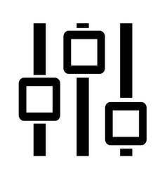 Control icon vector